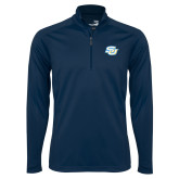 Syntrel Navy Interlock 1/4 Zip-Interlocking SU