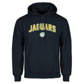 Navy Fleece Hoodie-Arched Jaguars