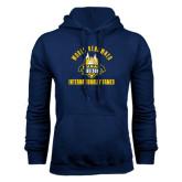 Navy Fleece Hoodie-World Renowed