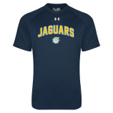 Under Armour Navy Tech Tee-Arched Jaguars