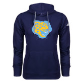 Adidas Climawarm Navy Team Issue Hoodie-Jaguar Head
