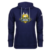 Adidas Climawarm Navy Team Issue Hoodie-The Human Jukebox Official Mark