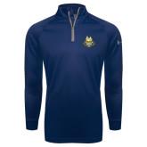 Under Armour Navy Tech 1/4 Zip Performance Shirt-The Human Jukebox Official Mark