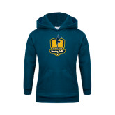 Youth Navy Fleece Hoodie-Fabulous Dancing Dolls Official Mark