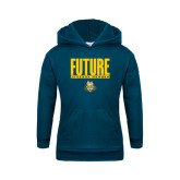 Youth Navy Fleece Hoodie-Future Jukebox Member
