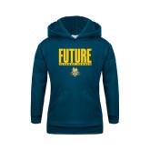 Youth Navy Fleece Hoodie-Future Jukebox Member