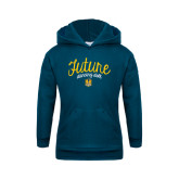 Youth Navy Fleece Hoodie-Future Dancing Doll