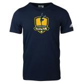 Adidas Navy Logo T Shirt-Fabulous Dancing Dolls Official Mark