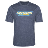 Performance Navy Heather Contender Tee-Southern Jaguars