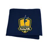 Navy Sweatshirt Blanket-Fabulous Dancing Dolls Official Mark