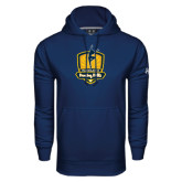 Under Armour Navy Performance Sweats Team Hoodie-Fabulous Dancing Dolls Official Mark