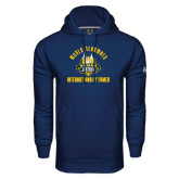 Under Armour Navy Performance Sweats Team Hoodie-World Renowed