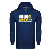 Under Armour Navy Performance Sweats Team Hoodie-Nobody Does It Better Stacked