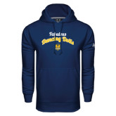 Under Armour Navy Performance Sweats Team Hoodie-Fabulous Dancing Dolls Script