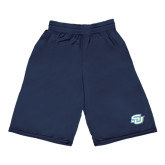 Russell Performance Navy 9 Inch Short w/Pockets-Interlocking SU