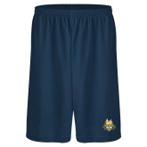 Russell Performance Navy 9 Inch Short w/Pockets-The Human Jukebox Official Mark