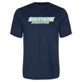 Syntrel Performance Navy Tee-Southern Jaguars