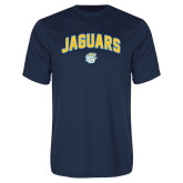 Performance Navy Tee-Arched Jaguars