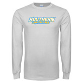 White Long Sleeve T Shirt-Southern Jaguars