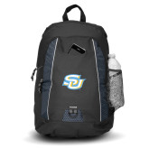 Impulse Black Backpack-Interlocking SU