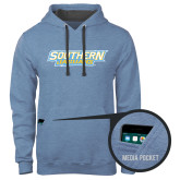 Contemporary Sofspun Carolina Heather Hoodie-Southern Jaguars