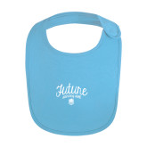 Light Blue Baby Bib-Future Dancing Doll