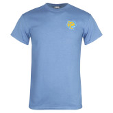 Light Blue T Shirt-Jaguar Head