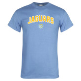 Light Blue T Shirt-Arched Jaguars