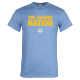Light Blue T Shirt-The Jaguar Nation