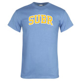 Light Blue T Shirt-Arched SUBR