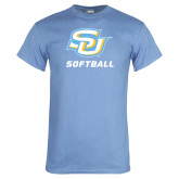Light Blue T Shirt-Softball