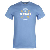 Light Blue T Shirt-Jaguars Baseball w/ Seams