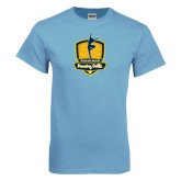Light Blue T Shirt-Fabulous Dancing Dolls Official Mark