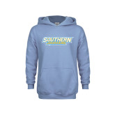 Youth Light Blue Fleece Hood-Southern Jaguars