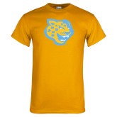 Gold T Shirt-Jaguar Head