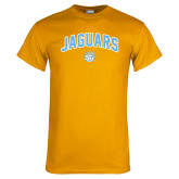 Gold T Shirt-Arched Jaguars