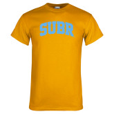Gold T Shirt-Arched SUBR