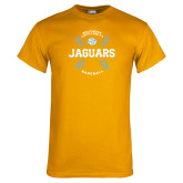 Gold T Shirt-Jaguars Baseball w/ Seams