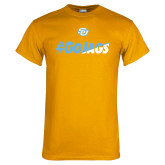 Gold T Shirt-#GoJags