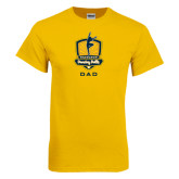 Gold T Shirt-Fabulous Dancing Dolls - Dad