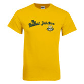 Gold T Shirt-The Human Jukebox Script