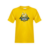 Youth Gold T Shirt-The Human Jukebox Official Mark