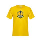 Youth Gold T Shirt-Fabulous Dancing Dolls Official Mark