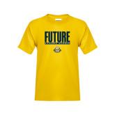 Youth Gold T Shirt-Future Jukebox Member