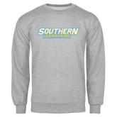 Grey Fleece Crew-Southern Jaguars