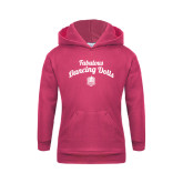 Youth Raspberry Fleece Hoodie-Fabulous Dancing Dolls Script