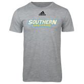 Adidas Sport Grey Logo T Shirt-Southern Jaguars