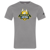 Adidas Sport Grey Logo T Shirt-The Human Jukebox Official Mark