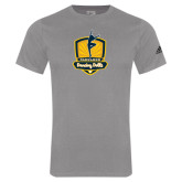 Adidas Sport Grey Logo T Shirt-Fabulous Dancing Dolls Official Mark