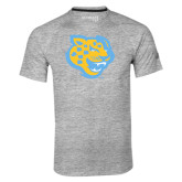 Adidas Climalite Sport Grey Ultimate Performance Tee-Jaguar Head